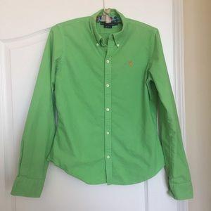 Ralph Lauren long-sleeved women's button-down